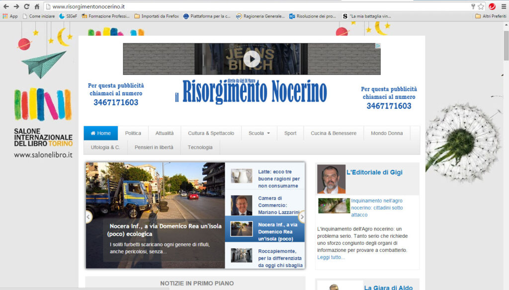 immagine sito Risorgimento Nocerino